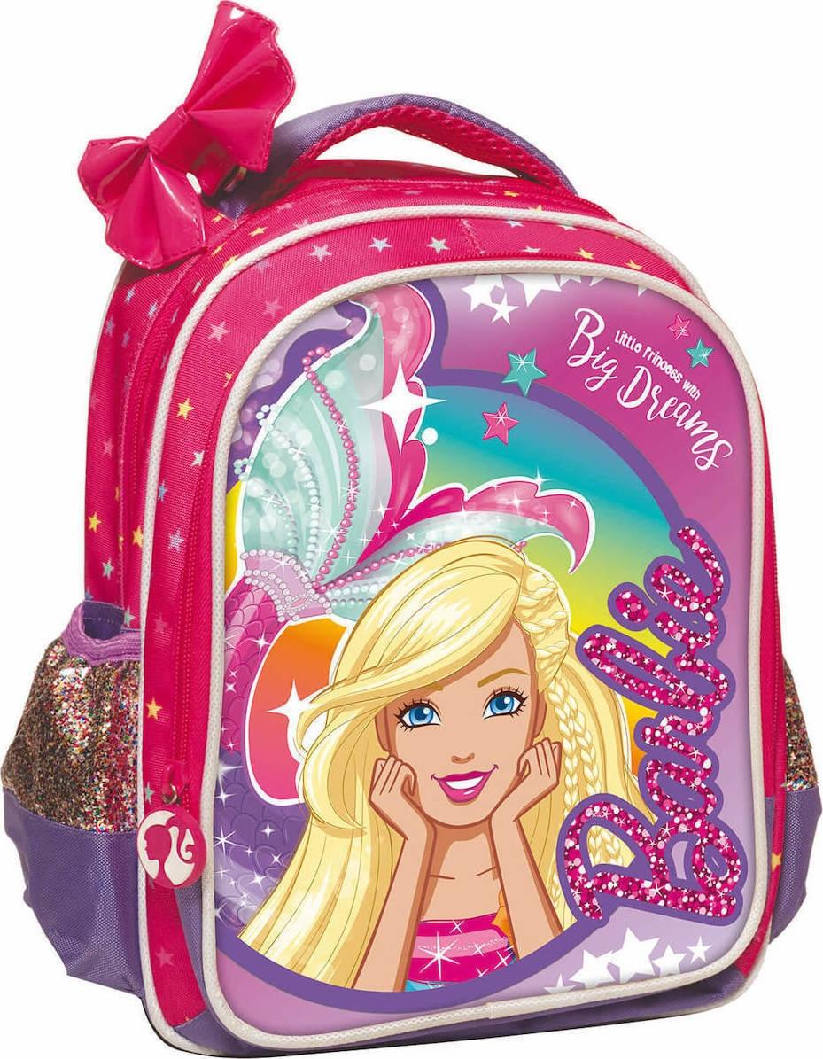 Gim Τσάντα Πλάτης Νηπιαγωγείου Barbie Dreamtopia