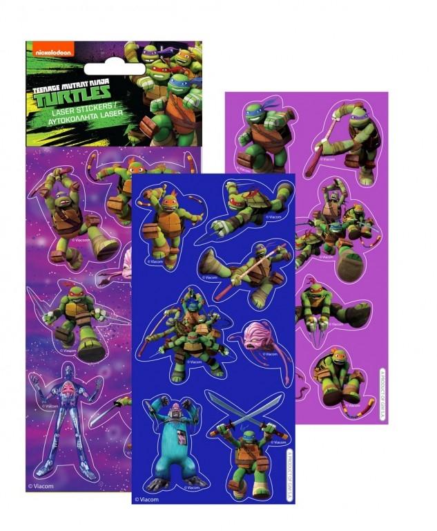 Gim Αυτοκόλλητα Laser Ninja Turtles