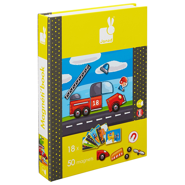 Janod Magneti Book Οχήματα