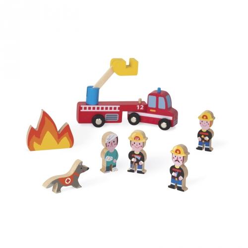 Janod Mini Story Pompiers