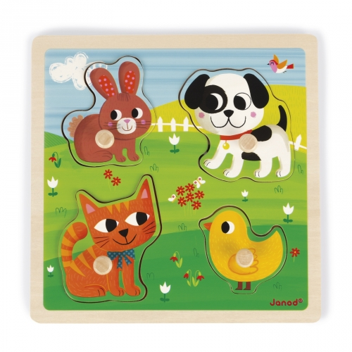 "Janod Tactile Puzzle ""My Firts Animals"""