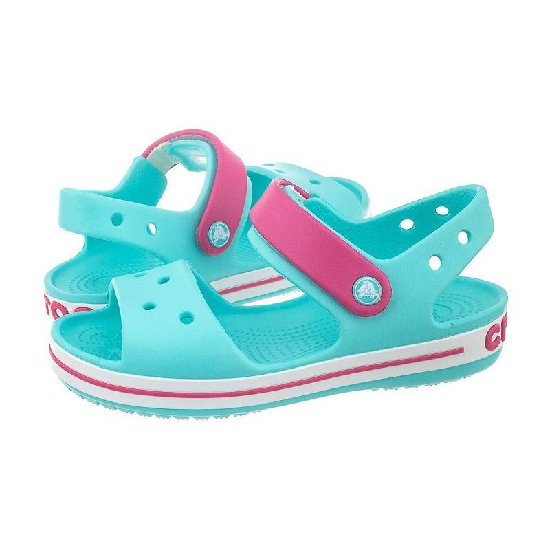 Crocs Σανδάλια Crocband Kids Γαλάζιο-Ροζ