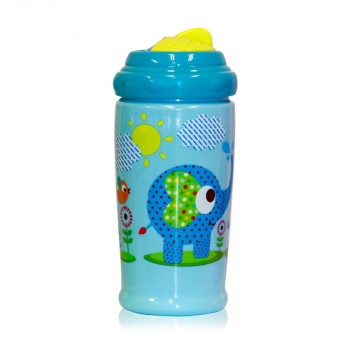 SWIPEY SIPPER WITH STRAW 300 ML ZOO