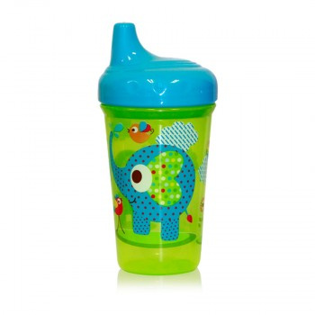 NON SPILL CUP ZOO WITH HARD 300 ML