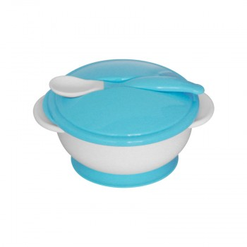 SET FEEDING BOWL+SPOON
