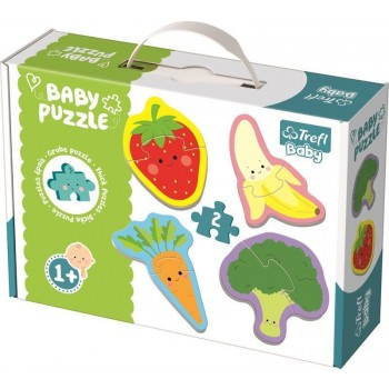 TREFL PUZZLE BABY FRUIT AND VEGETABLES
