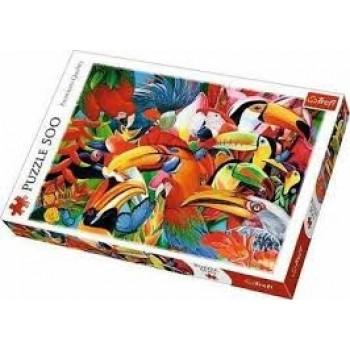500PCS COLOURFUL BIRDS