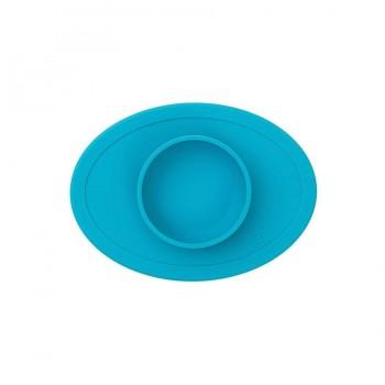 Ezpz Δίσκος και πιάτο σε ένα Tiny Bowl Blue
