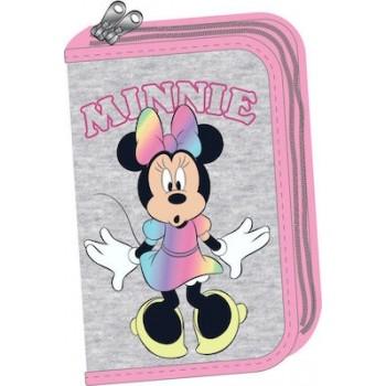 Κασετίνα Διπλή Γεμάτη Minnie Pom Pom 340-48100 - GIM