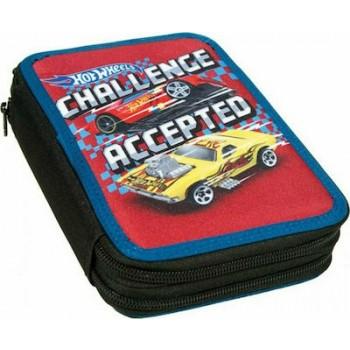 Gim - Κασετίνα Διπλή Hot Wheels Challenge 349-25100