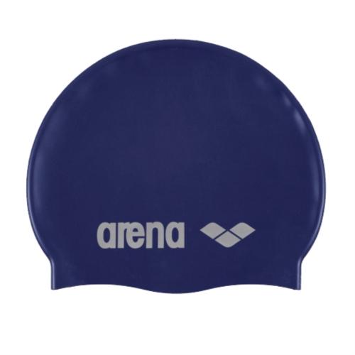 Arena Σκουφάκι Κολύμβησης Classic Silicone Μπλε Σκούρο