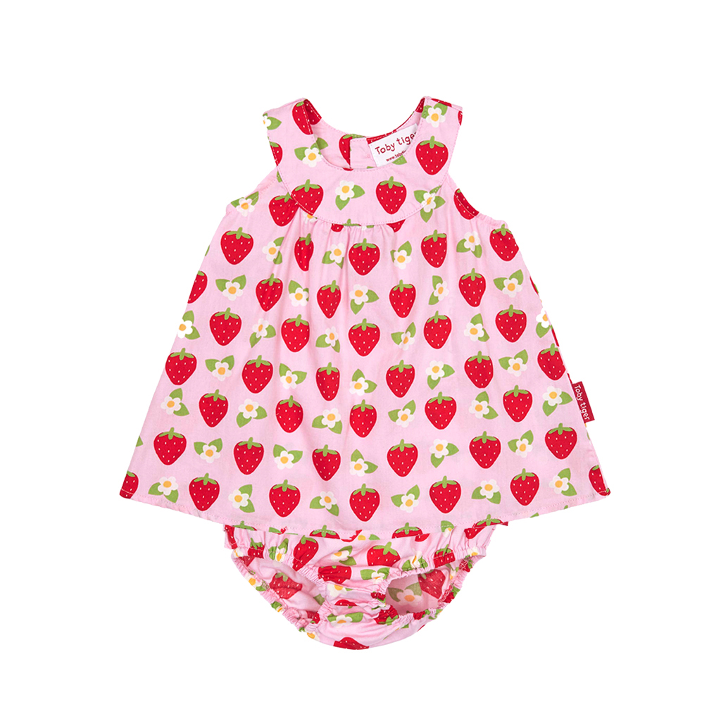 Toby Tiger Φόρεμα Με Σχέδιο Φράουλες