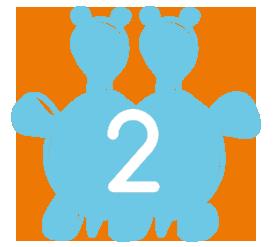 Επίλεξε τύπο συνδρομής - Διπλή - Baby Swim II