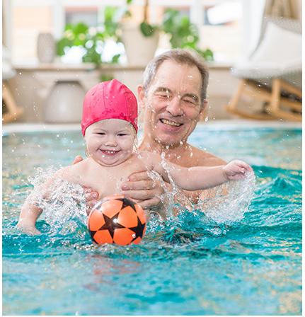 κολύμβηση για βρέφη και μωρά